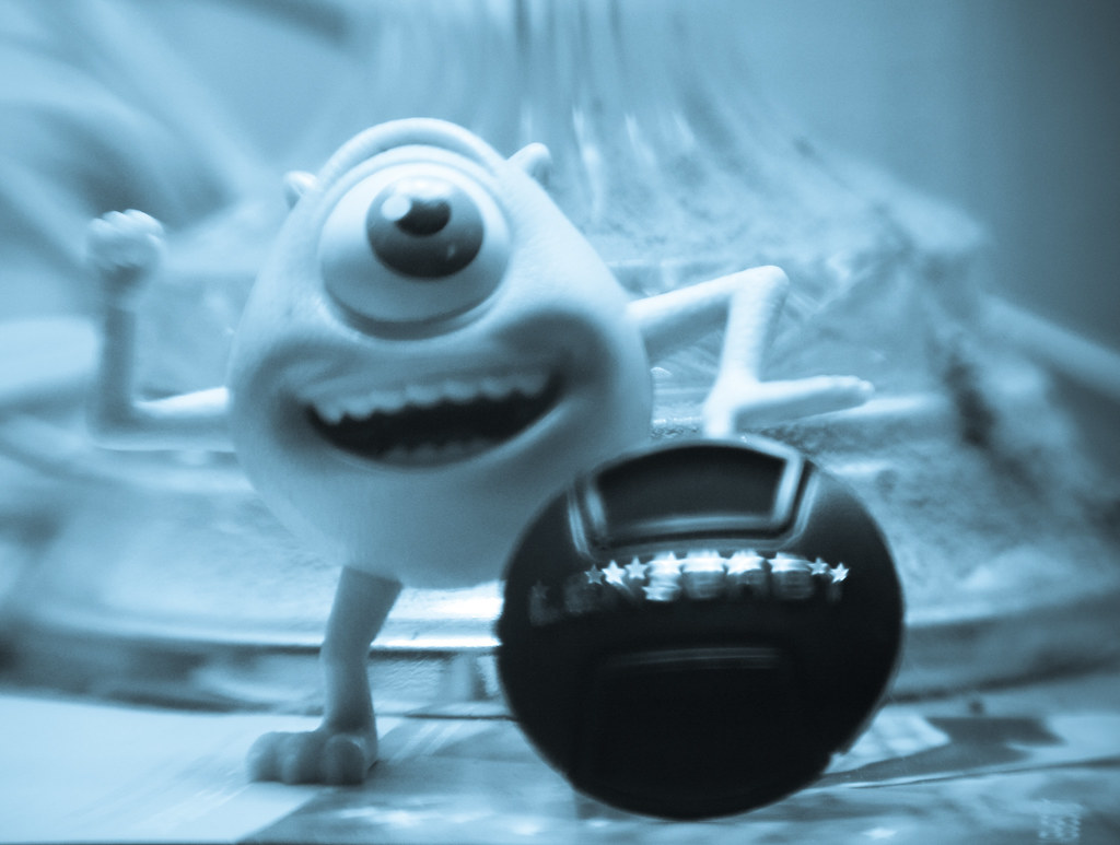 Oh to be as happy as Mike Wazowski...