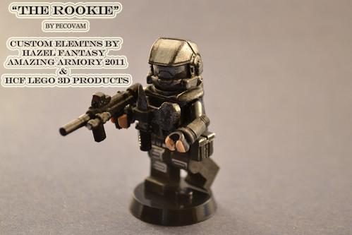 Custom minifig The Rookie 1