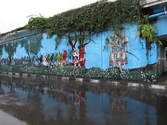 Streetart in Yogya