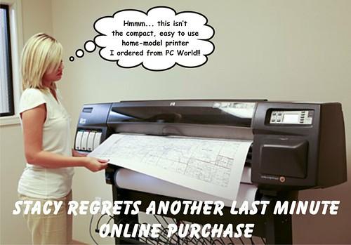 Large format printing / plotter
