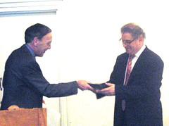 Stahl Medal presentation