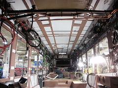 Roof Insulation (CUMTD) Tags: bus buses mtd publictransit publictransportation urbana champaign masstransit savoy champaignurbana newflyer fta cumtd dieselelectric federaltransitadministration hybridbuses champaignurbanamasstransitdistrict