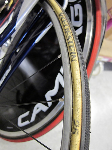 25c tires on Ambrosio Nemesis Rims - Classics Time!