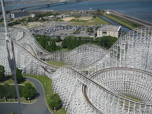 1-White-Cyclone-roller-coaster