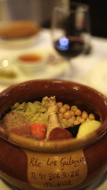 Cocido Madrileño en Los Galayos