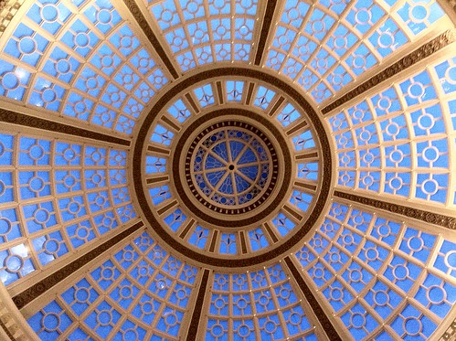 Westfield Center rotunda dome 1/30/11
