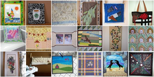 The Creations for Project QUILTING's 'What's in a Name' Challenge