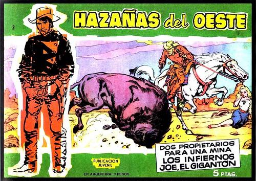 037-Hazañas del Oeste-Edicion Colecionistas-Vol 1-nº2-portada