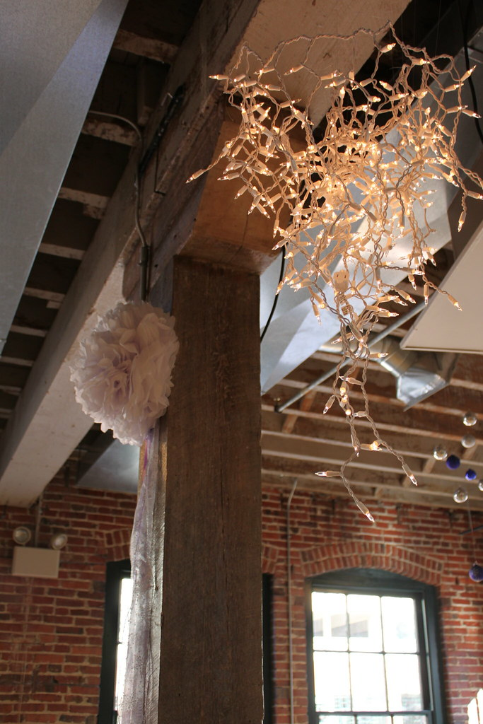 Icicle Light Chandeliers