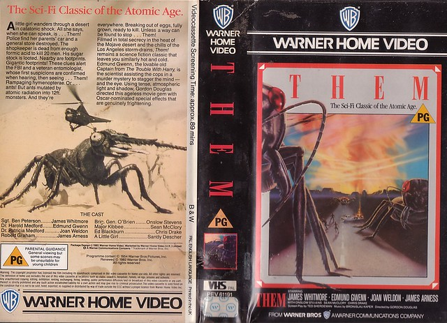 THEM (VHS Box Art)