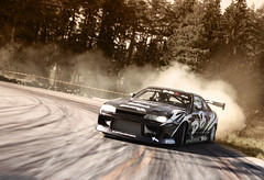 The best way to take a curve :) (Patrik Karlsson 2002tii) Tags: skyline canon nissan daniel extreme performance sigma turbo driver bjrk r33 1020 racer patrik karlsson pbz 50d