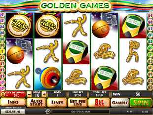 Golden Games slot game online review