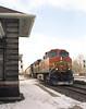 BNSF 4379 at Fostoria Depot