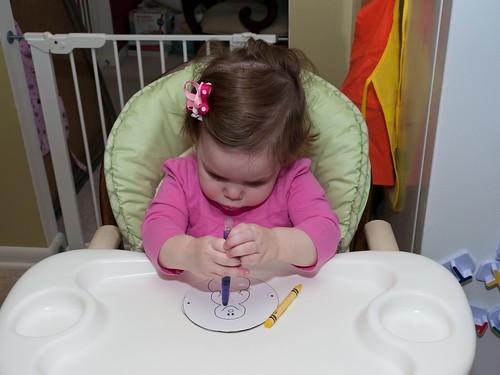 Leah coloring