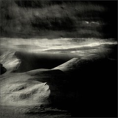 So Near (Olli Keklinen) Tags: bw snow texture clouds photoshop dark square nikon scenery drift d300 2011 500x500 ok6 ollik 20110205