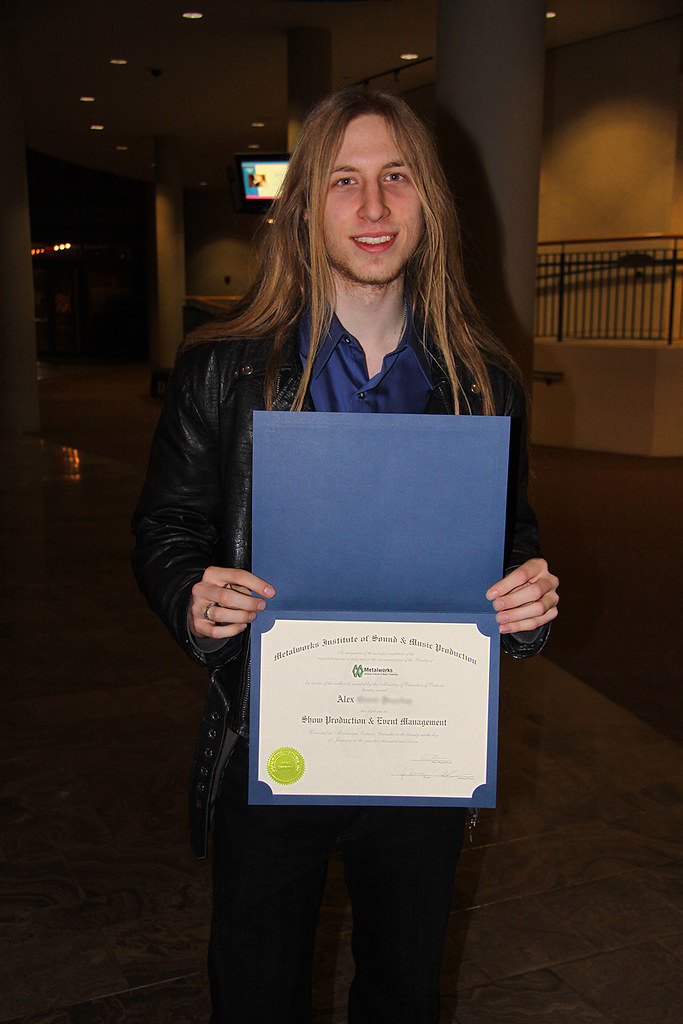 alex and diploma