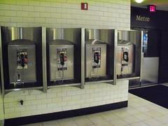 Payphones, DC (eyescorpion) Tags: public station train dc washington phone telephone payphone pay fone telefono phones payphones