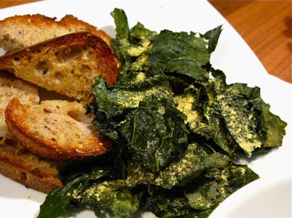 butternut squash soup kale 004
