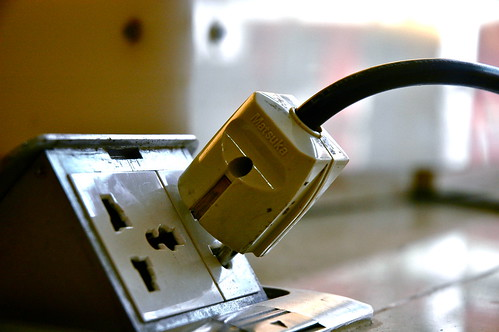 Plugged In by Intrepidteacher, on Flickr