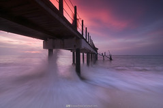 Unbearable Waves (Firdaus Mahadi) Tags: longexposure light sunset sea sky sun water landscape evening scenery waves jetty wave malaysia slowshutter penang fm pantai jeti pemandangan ombak longexposures kerachut nd400 petang telukbahang pulaupinang penangnationalpark pantaikerachut tamannegarapulaupinang manfrotto055xprob kerachutbeach selatmelaka malaccastrait tokina1116mmf28 firdausmahadi firdaus