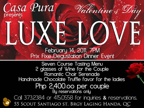Luxe Love at Casa Pura