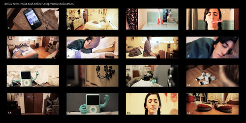 "Still Frames from ""Rise and Shine"""