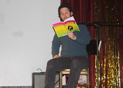 Paul Rudd reads from Jon Glaser's new book
