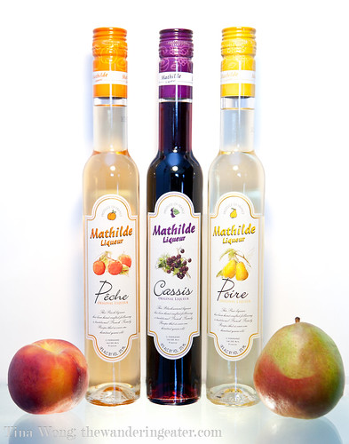Mathilde French Fruit Liqueurs