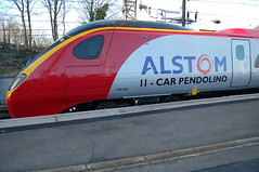 Alstom Pendolino Class 390 390054 - Stafford (dwb photos) Tags: railway alstom stafford pendolino 390054