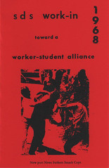 SDS Work-In 1968: Toward a Worker-Student Alliance by SDS Work-In Committee, SDS Work-In Committee