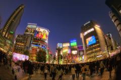 Shibuya Crossing (/\ltus) Tags: japan tokyo pentax shibuya handheld hdr shibuyacrossing k7 5xp