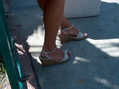 HPIM2079 (Candid Heels) Tags: street public stockings high pumps boots shots sandals candid heels pantyhose nylons
