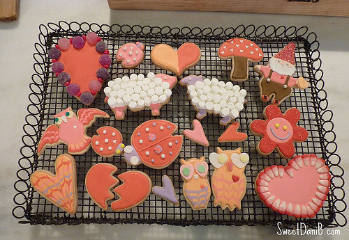 Last week, Martha Stewart's Valentine's Day Ideas show had a little segment