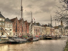 Hoge der A, Groningen in HDR [Explored] (Ger Bosma) Tags: holland architecture thenetherlands canals explore groningen grachten citycentre hdr gettyimages historicbuildings wow1 wow2 binnenstad explored hogederaa hogedera absolutegoldenmasterpiece tripleniceshot mygearandme mygearandmepremium mygearandmebronze flickrstruereflection1