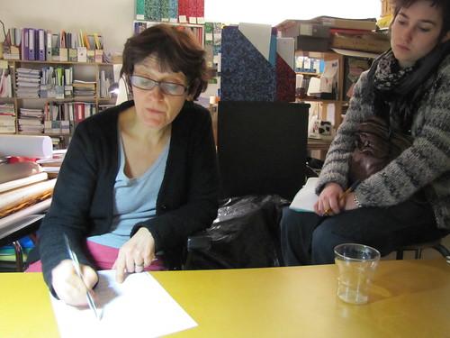 Incontro con Bernadette Blanchon