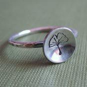 Ginko Leaf Ring