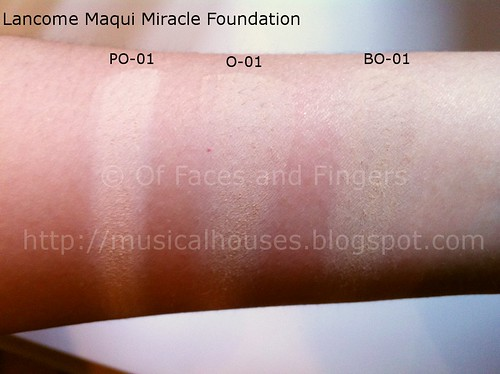 lancome maqui miracle swatches 1