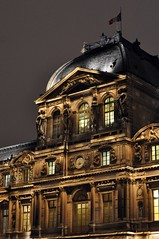 The Louvre (Rob-In-Transit) Tags: city paris france architecture night nikon thelouvre d90 nikonflickraward