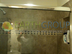 shower-remodeling_03 (Earthgroup Construction) Tags: door tile shower replacement installation bathtub fixture refinishing resurfacing