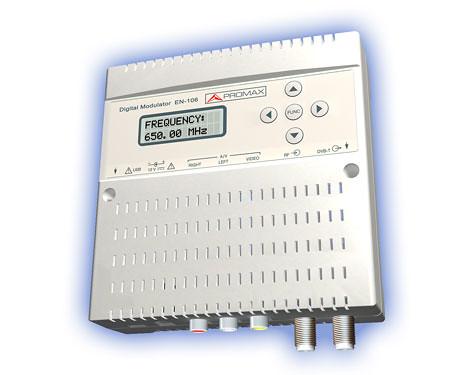 5449889475 6853004c31 Promax presenta el nuevo modulador digital EN 106