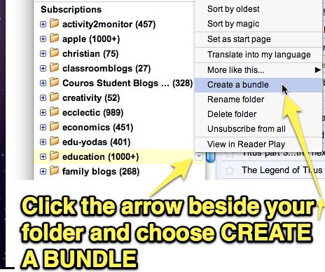 Create a bundle