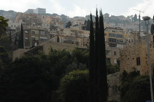 Haifa from Ben Gurion Avenue