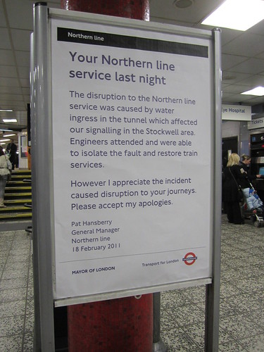 Northern Line - Apology