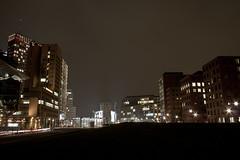 Potsdamer Platz (KirschPorter) Tags: berlin night nightshot potsdamerplatz langzeitbelichtung