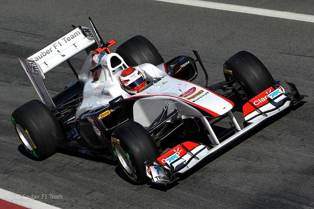 Sauber C30 F1 2011 Barcelona 21