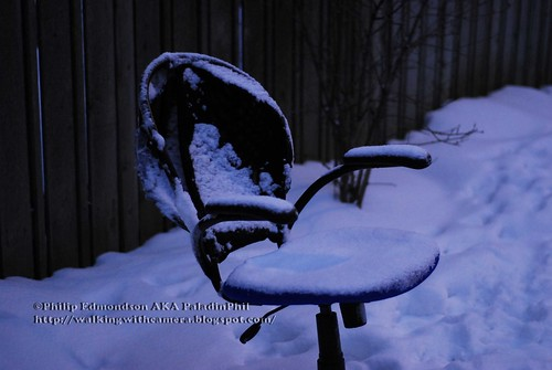 Cold Snowy Seat
