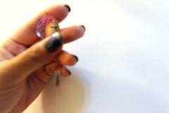 (Dnz Aqmi) Tags: make espelho glitter mirror hands olhos maquiagem boca reflexo mos nailart unhascoloridas hologrfico