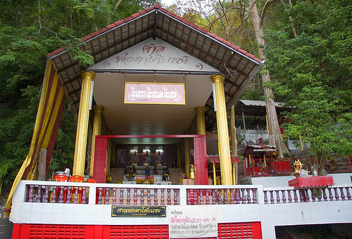 Shrine at Monkey Hill, Phuket