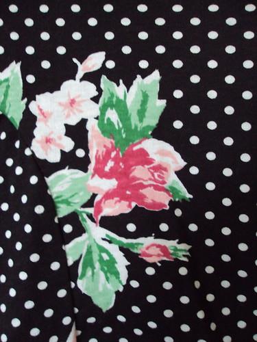 90's Floral Top (detail)