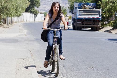 Rengo: Ciudadana en bici